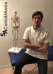 Giacomo Catalano, Osteopata D.O. M.s.c. Ost. (UK) e Massoterapista (MCB).